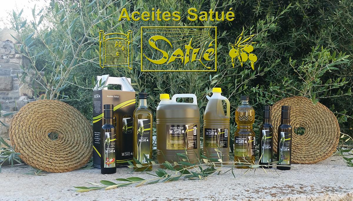 Nuestros productos Aceites Satue